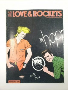 LOVE and ROCKETS No. 28 Fantagraphics 1st Printing 1988 Adult Comic Magazine