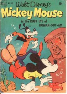 MICKEY MOUSE F.C. 343 GOOD COMICS BOOK