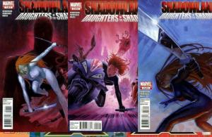 SHADOWLAND DAUGHTERS OF THE SHADOW (2010) 1-3 Daredevil