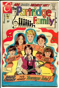 Partridge Family #2 1971-Charlton-David Cassidy-Shirley Jones-Susan Dey-VG