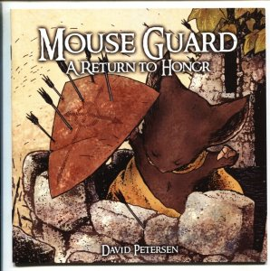 Mouse Guard #6-2006-David Petersen NM-