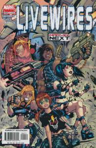 Livewires #4 VF/NM; Marvel | save on shipping - details inside