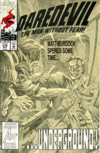 Daredevil #316 VF; Marvel   save on shipping - details inside