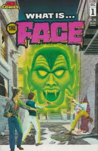 What is…THE FACE? #1 FN; Animated Comics Enterprises | save on shipping - detail