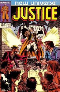 Justice (1986 series) #12, NM- (Stock photo)