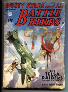 Dusty Ayres and His Battle Birds 7/1935-Popular-Blakeslee-Aviation pulp mag