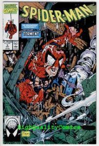 SPIDER-MAN #5, NM+, Todd McFarlane, 1990, Lizard, Torment, more in store
