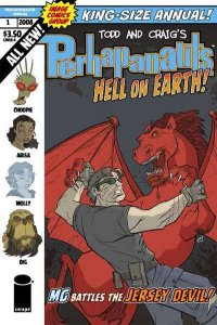 Perhapanauts (2008 series) Annual #1, NM- (Stock photo)