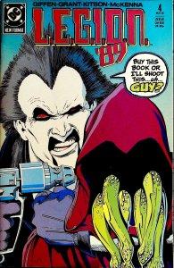 L.E.G.I.O.N. #4 (1989)