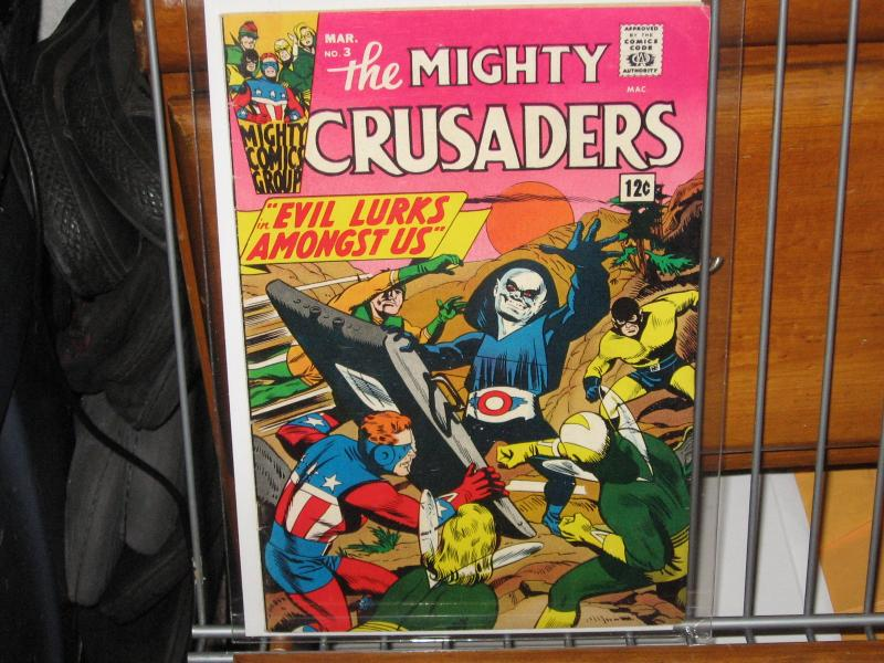 mighty crusaders # 3
