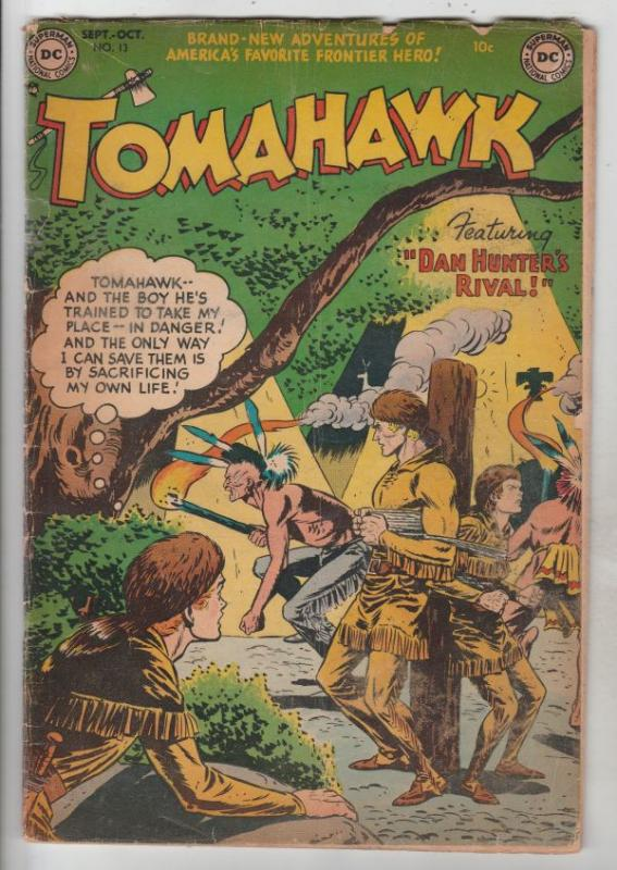 Tomahawk #13 (Oct-52) VG+ Affordable-Grade Tomahawk