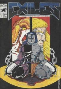 Exiles (Alpha) #2 VF; Alpha | save on shipping - details inside