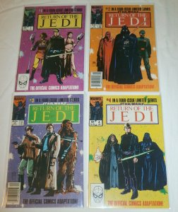 Star Wars: Return of the Jedi #1-4 (complete set) Goodwin/Williamson