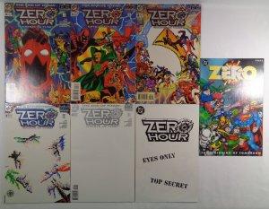 Zero Hour #0 1 2 3 4 Ashcan DC Comics 1994