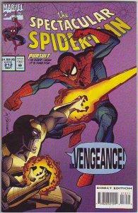 Spider-Man, Peter Parker Spectacular #212 (May-94) NM+ Super-High-Grade Spide...