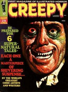 Creepy (1964 series) #26, Fine+ (Stock photo)