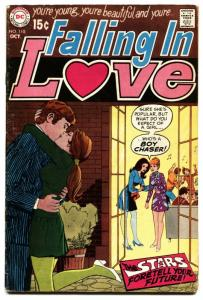 FALLING IN LOVE #109 1969 DC ROMANCE COMICS-ASTROLOGY vg-
