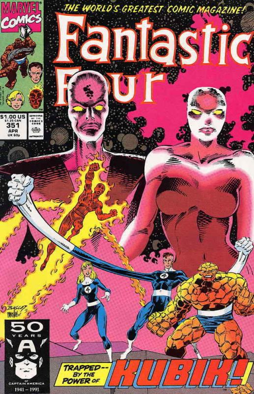 Fantastic Four (Vol. 1) #351 FN; Marvel | save on shipping - details inside
