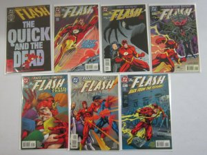 Flash comic lot 21 different from #100-150 avg 8.0 VF (1995-99 2nd Series)