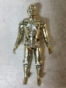 C-3PO Kenner Action Figure Star Wars 1977 Skywalker Kenobi Solo Droids Han TWT1