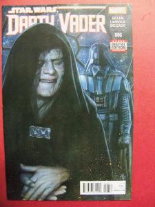 DARTH VADER #006 REGULAR  COVER NEAR MINT 9.4 MARVEL COMICS 2015 SERIES