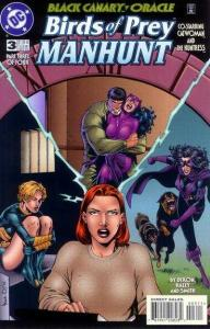 Birds of Prey: Manhunt #3, NM (Stock photo)