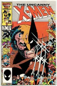 Uncanny X-Men #211 (Marvel, 1986) VF