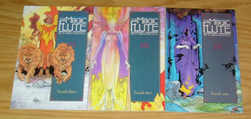 Wolfgang Amadeus Mozart's the Magic Flute #1-3 VF/NM complete series - PCR 2 set