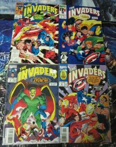 INVADERS (1993) 1-4  WWII Heroes Revival!