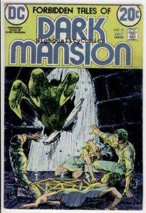 FORBIDDEN TALES of DARK MANSION #11, VG, Kaluta, 1972, more horror in store