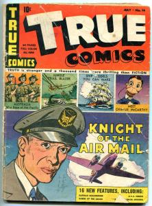 TRUE COMICS #14 1942-CHARLIE MCCARTHY-MICHELANGELO-RCMP g/vg