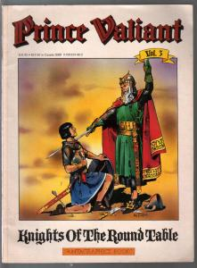 Prince Valiant #3 1975-Fatagraphics-pages 93-138-Hal Foster art-VG/FN