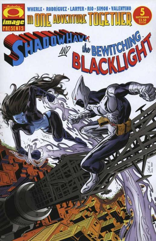 SHADOWHAWK (2005 IM) 5-6  'And BLACKLIGHT' 2-part story