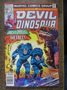 DEVIL DINOSAUR 6 VG September 1978 COMICS BOOK