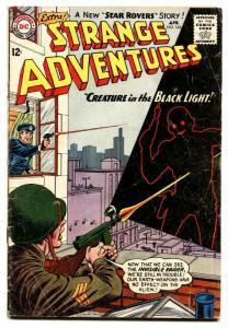 STRANGE ADVENTURES #163 comic book 1964-CREATURE OF BLACK LIGHT-DC