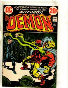 The Demon # 7 FN/VF DC Comic Book Jack Kirby Bronze Age Etrigan Fourth World RS1