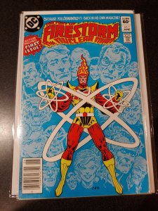FIRESTORM, THE NUCLEAR MAN #1