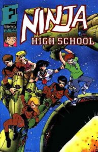 Ninja High School #29 VF/NM; Malibu | save on shipping - details inside