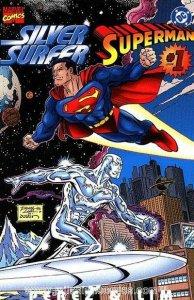 Silver Surfer/Superman #1, NM + (Stock photo)