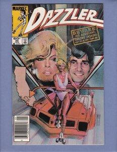 Dazzler #30 FN Marvel 1984