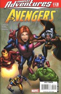Marvel Adventures The Avengers #21 FN; Marvel   save on shipping - details insid