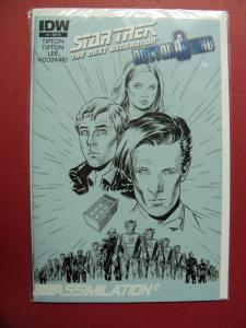 STAR TREK TNG #3 RETAILER INCENTIVE VARIANT COVER  (VF/NM 9.0 OR BETTER)  IDW