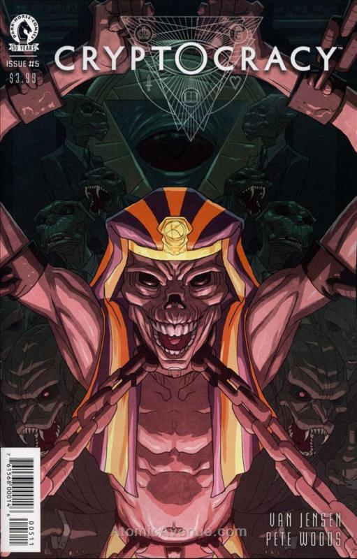 Cryptocracy #5 VF/NM; Dark Horse | save on shipping - details inside