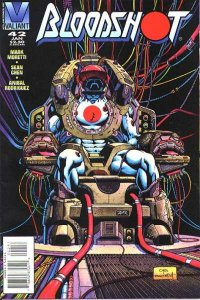 Bloodshot (1993 series) #42, NM- (Stock photo)