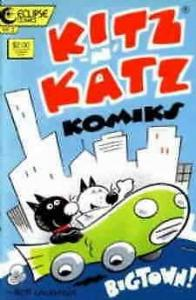 Kitz 'n' Katz Komiks #3 VF/NM; Eclipse | save on shipping - details inside
