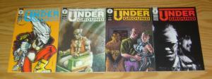 Underground #1-4 VF/NM complete series ANDREW VACHSS dave dorman PHIL HESTER set
