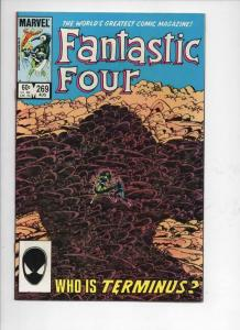 FANTASTIC FOUR #269 VF/NM Terminus Byrne 1961 1984 Marvel, more FF in store