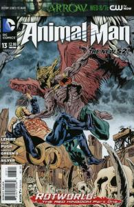 Animal Man (2nd Series) #13 VF/NM; DC | save on shipping - details inside