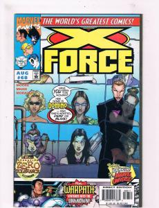X-Force #68 VF 1st Print Marvel Comic Book Wolverine X-Men DE3