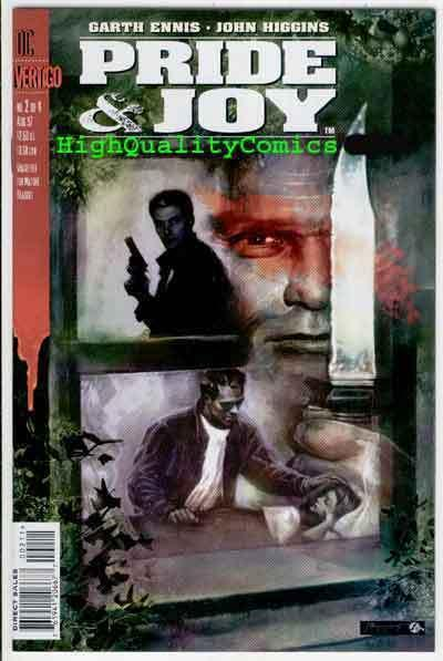 PRIDE & JOY #2, NM+, Garth Ennis, Vertigo , John Higgins, more in store